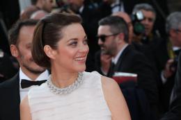 photo 78/379 - Mont�e des marches pour Deux jours, une nuit au 67�me Festival International du Film de Cannes 2014 - Marion Cotillard - © Isabelle Vautier pour CommeAuCinema.com