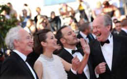 photo 162/460 - Montée des marches pour Deux jours, une nuit au 67ème Festival International du Film de Cannes 2014 - Marion Cotillard - © Isabelle Vautier pour CommeAuCinema.com