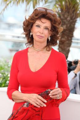 Sophia Loren Photocall pour La Voce Umana au 67�me Festival International du Film de Cannes 2014 photo 9 sur 65