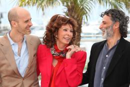 Enrico Lo Verso Photocall pour La Voce Umana au 67ème Festival International du Film de Cannes 2014 photo 4 sur 9