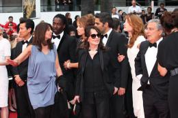 Chantal Lauby Chantal Lauby, Christian Clavier, Noom Diawara, Elodie Fontan  -  Cannes 2014 photo 6 sur 28