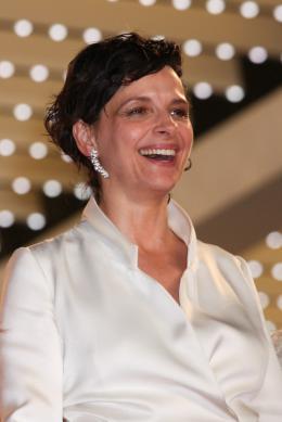 photo 46/63 - Juliette Binoche - Montée des marches pour Sils Maria au 67ème Festival International du Film de Cannes 2014 - Sils Maria - © Isabelle Vautier pour CommeAuCinema.com