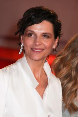 photo 42/63 - Juliette Binoche - Montée des marches pour Sils Maria au 67ème Festival International du Film de Cannes 2014 - Sils Maria - © Isabelle Vautier pour CommeAuCinema.com