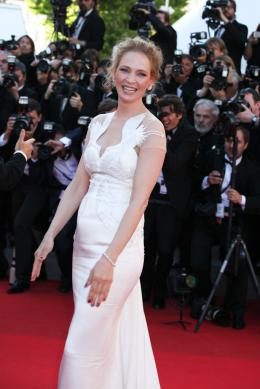 Uma Thurman Tapis de cl�ture du 67�me Festival International du Film de Cannes 2014 photo 4 sur 139