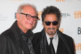 photo 19/20 - Barry Levinson, Al Pacino - Présentation du film au Festival de Toronto 2014 - En toute Humilité - © Isabelle Vautier pour CommeAuCinema.com