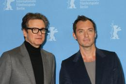 photo 27/58 - Colin Firth, Jude Law - Berlin 2016 Photocall - Genius - © Isabelle Vautier pour @Commeaucinema.com