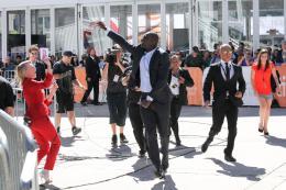 photo 19/36 - Omar Sy - Présentation du film au Festival de Toronto 2014 - Samba - © Isabelle Vautier pour CommeAuCinema.com
