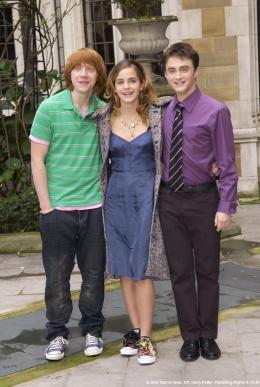 photo 15/163 - Conférence de presse Harry Potter et La Coupe de feu – Londres, le 25 octobre 2005 - Harry Potter et la coupe de feu