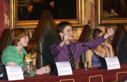 photo 11/163 - Conf�rence de presse Harry Potter et La Coupe de feu � Londres, le 25 octobre 2005 - Harry Potter et la coupe de feu