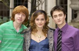 photo 12/163 - Conférence de presse Harry Potter et La Coupe de feu – Londres, le 25 octobre 2005 - Harry Potter et la coupe de feu