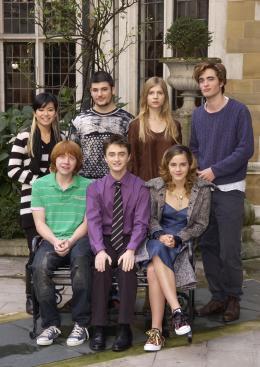 photo 13/163 - Conférence de presse Harry Potter et La Coupe de feu – Londres, le 25 octobre 2005 - Harry Potter et la coupe de feu