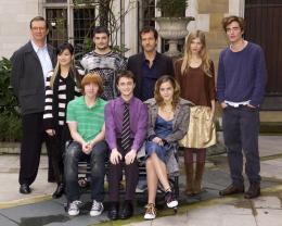 photo 14/163 - Conférence de presse Harry Potter et La Coupe de feu – Londres, le 25 octobre 2005 - Harry Potter et la coupe de feu