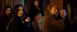 photo 38/163 - Alan Rickman et Brendan Gleeson - Harry Potter et la coupe de feu