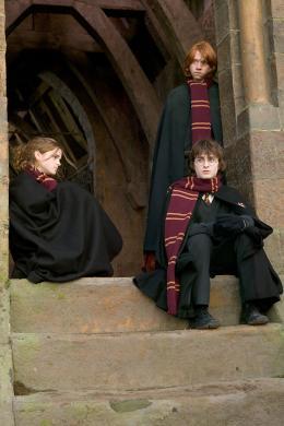 photo 111/163 - Emma Watson, Rupert Grint et Daniel Radcliffe - Harry Potter et la coupe de feu