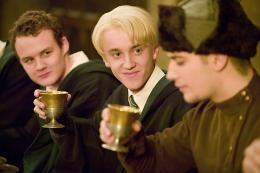 photo 116/163 - Tom Felton et Stanislav Ianevski - Harry Potter et la coupe de feu