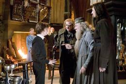 photo 127/163 - Daniel Radcliffe, Brendan Gleeson et Micheal Gambon - Harry Potter et la coupe de feu