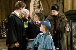 photo 132/163 - Robert Pattinson, Daniel Radcliffe, Cl�mence po�sy et Stanislav Ianevski - Harry Potter et la coupe de feu
