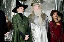 photo 148/163 - Maggie Smith et Michael Gambon - Harry Potter et la coupe de feu