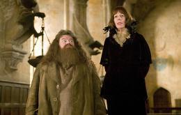 photo 70/163 - Robbie Coltrane et Frances de la Tour - Harry Potter et la coupe de feu