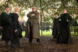 photo 90/163 - Tom Felton, Brenda Gleeson et Maggie Smith - Harry Potter et la coupe de feu