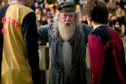 photo 98/163 - Michael Gambon et Daniel Radcliffe - Harry Potter et la coupe de feu
