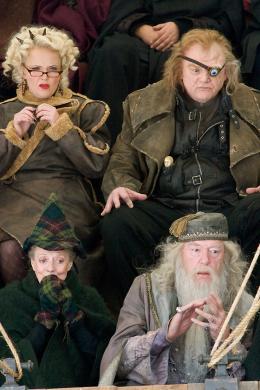 photo 101/163 - Brendan Gleeson, Maggie Smith et Michael Gambon - Harry Potter et la coupe de feu
