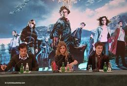 photo 19/163 - Conférence de presse Harry Potter et la coupe de feu - David Heyman, Clémence Poésy & Daniel Radcliffe - Paris, novembre 2005 - Harry Potter et la coupe de feu