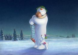 Les Merveilleux contes de la Neige Le Bonhomme de Neige et le petit chien photo 2 sur 5