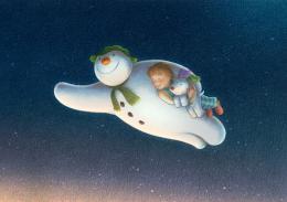 Les Merveilleux contes de la Neige Le Bonhomme de Neige et le petit chien photo 1 sur 5