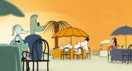 photo 12/19 - Les Moomins sur la Riviera - © Gebeka