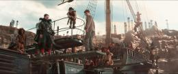 photo 27/89 - Levi Miller, Hugh Jackman - Pan - © Warner Bros