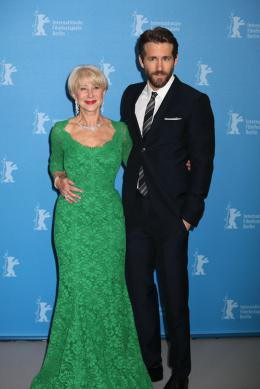 photo 18/35 - Helen Mirren, Ryan Reynolds - Photocall - Berlin 2015 - La Femme au Tableau - © Isabelle Vautier pour Commeaucinema.com