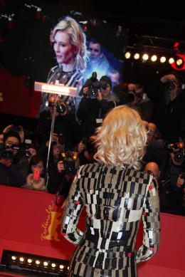 photo 88/112 - Cate Blanchett - Tapis rouge - Berlin 2015 - Cendrillon - © Isabelle Vautier pour Commeaucinema.com