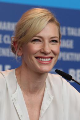 photo 55/112 - Cate Blanchett - Conférence - Berlin 2015 - Cendrillon - © Isabelle Vautier pour Commeaucinema.com