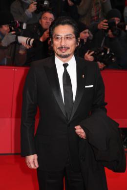 Mr. Holmes Hiroyuki Sanada - Tapis rouge - Berlin 2015 photo 8 sur 26