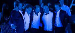 photo 4/11 - Jean-François Cayrey, Charles Berling, Kad Merad, Vincent Moscato, Benoît Magimel - On voulait tout casser - © Gaumont Distribution
