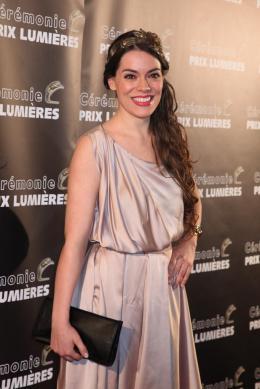 Chloe Dumas 20èmes Trophées des Lumières 2015 photo 1 sur 1
