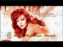 Angélique, marquise des anges Menu Dvd photo 1 sur 2