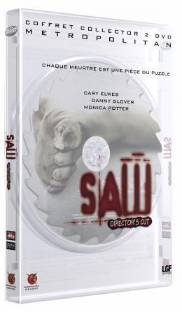 photo 16/19 - Jaquette Dvd - Edition Director's Cut - Saw - © Métropolitan Film
