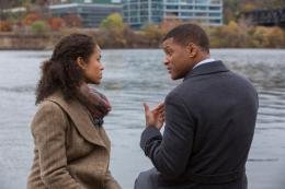 photo 2/13 - Gugu Mbatha-Raw, Will Smith - Seul contre tous - © Sony Pictures