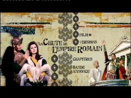 photo 5/6 - Menu Dvd - La chute de l'empire romain