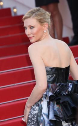 photo 41/42 - Cate Blanchett - Tapis Carol - Carol - © Isabelle Vautier pour Commeaucinema.com
