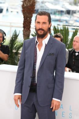 photo 21/31 - Matthew McConaughey - Cannes 2015 - Nos Souvenirs - © Isabelle Vautier pour Commeaucinema.com