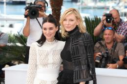 photo 20/42 - Rooney Mara, Cate Blanchett - Photocall Carol - Carol - © Isabelle Vautier pour Commeaucinema.com