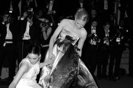 photo 35/42 - Rooney Mara, Cate Blanchett - Tapis Carol - Carol - © Isabelle Vautier pour Commeaucinema.com