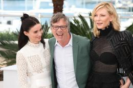 photo 22/42 - Rooney Mara, Todd Haynes, Cate Blanchett - Photocall Carol - Carol - © Isabelle Vautier pour Commeaucinema.com
