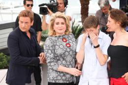 photo 62/107 - La Tête Haute - Cannes 2015 - Emmanuelle Bercot - © Isabelle Vautier pour Commeaucinema.com
