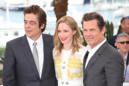photo 14/39 - Benicio Del Toro, Emily Blunt, Josh Brolin - Cannes 2015 - Sicario - © Isabelle Vautier pour Commeaucinema.com