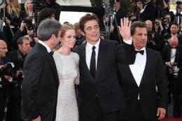 photo 24/39 - Denis Villeneuve, Emily Blunt, Benicio Del Toro, Josh Brolin - Cannes 2015 - Sicario - © Isabelle Vautier pour Commeaucinema.com