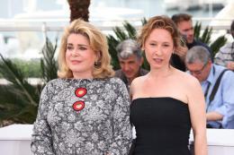 photo 63/107 - La Tête Haute - Cannes 2015 - Emmanuelle Bercot - © Isabelle Vautier pour Commeaucinema.com